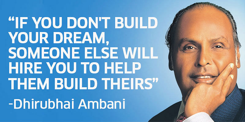 13 inspiring quotes by Dhirubhai Ambani teaching you how to dream big