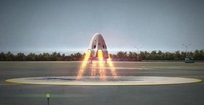 dragon 2 landing