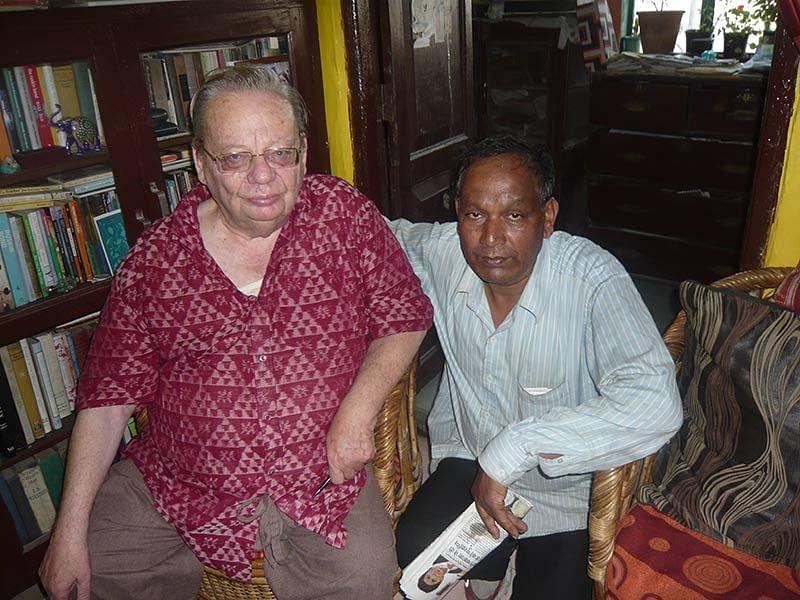 Ruskin Bond (left) and Prem (right)