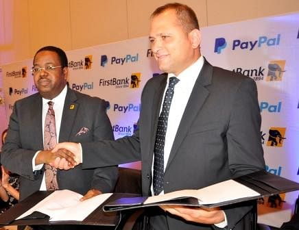PayPal Nigeria Partnering with FirstBank