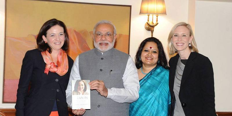 Narendra Modi- Sheryl Sandberg