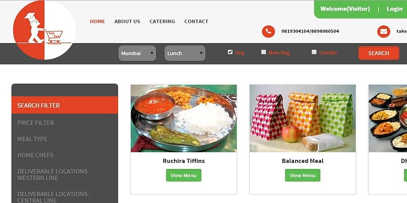 Does a tiffin service marketplace for food delivery make more sense