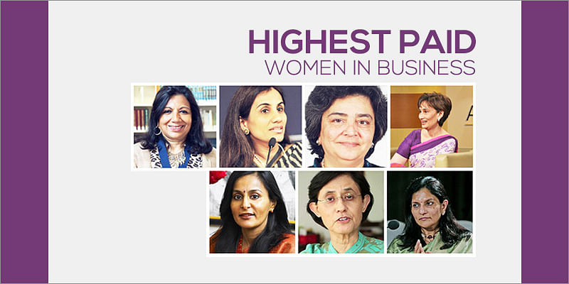 The top 10 highest paid Indian women in business