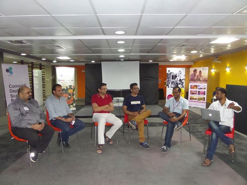Food tech panel at Startup Saturday, Bangalore