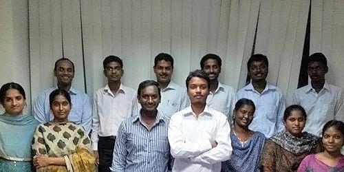 Manoj and his team