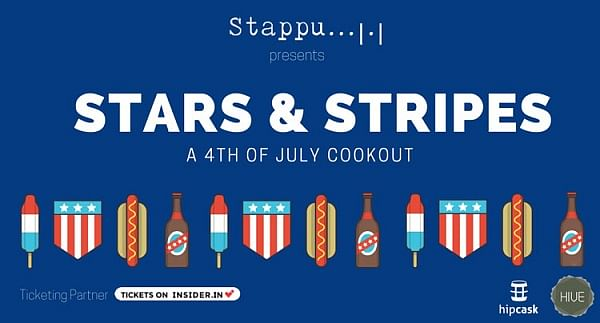Stars and stripes: The next pop up event from Stappu's stable