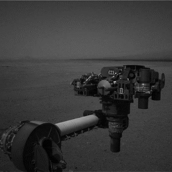 End of Curiosity's Extended Arm, Full-Resolution (NASA/JPL-Caltech)