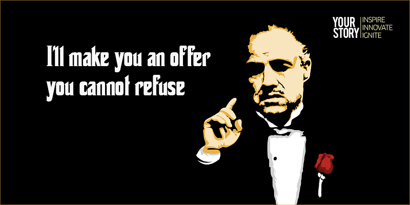 Image result for i will make an offer you can't refuse