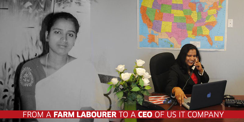 From A Farm Labourer To An It Millionairess How Jyothi Reddy Beat All Odds To Emerge A Winner