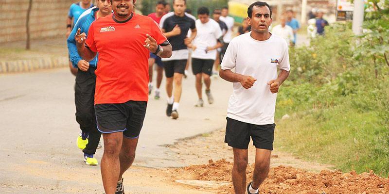One of the Training runs for Bengaluru 10K Challenge