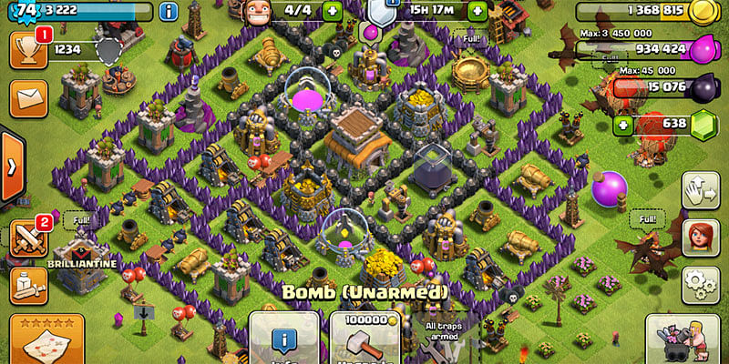 game gems clash of clans