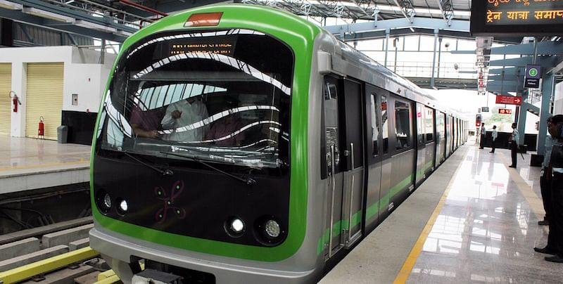 Image result for latest images of bengaluru metro stations