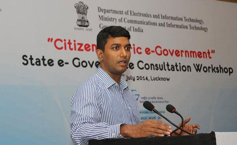 G.S. Naveen Kumar, Special Secretary, Uttar Pradesh Chief Minister Office