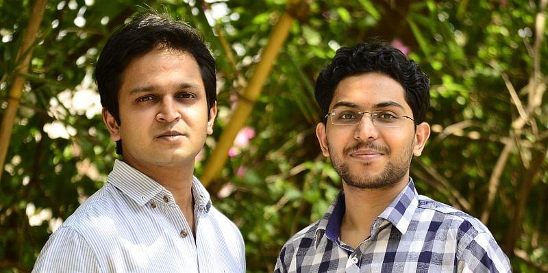 Locus.sh co-founders (L-R ): Nishith Rastogi and Geet Garg