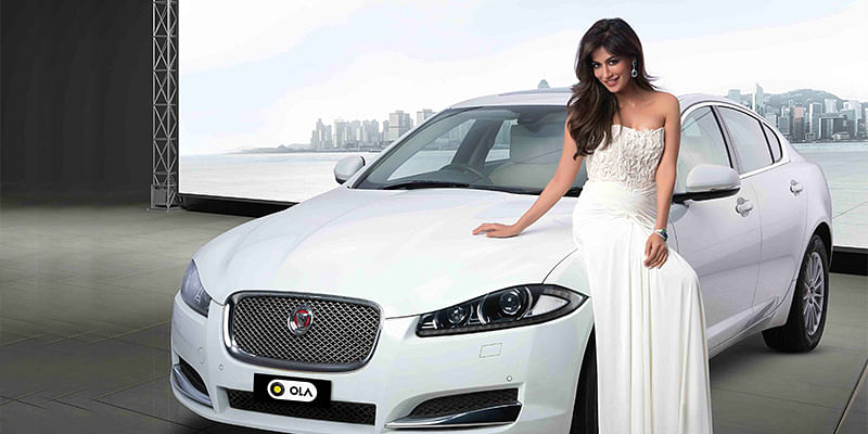 Jaguar for Rs 19 per km - Ola launches luxury category