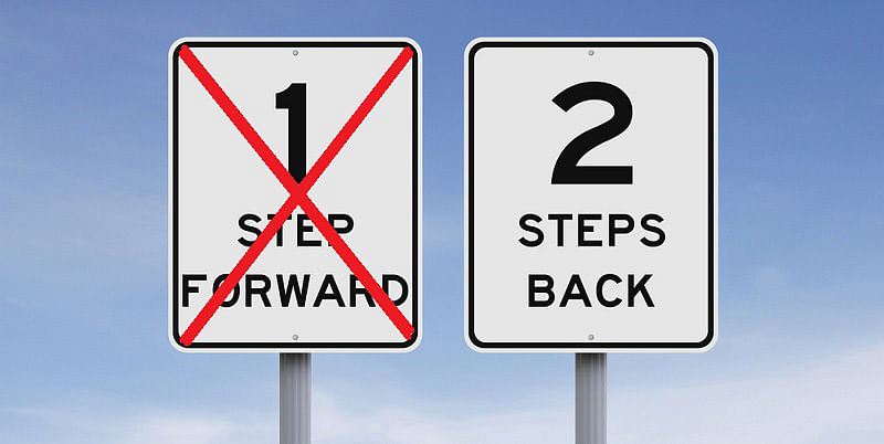 why should you step back and abandon your successful venture