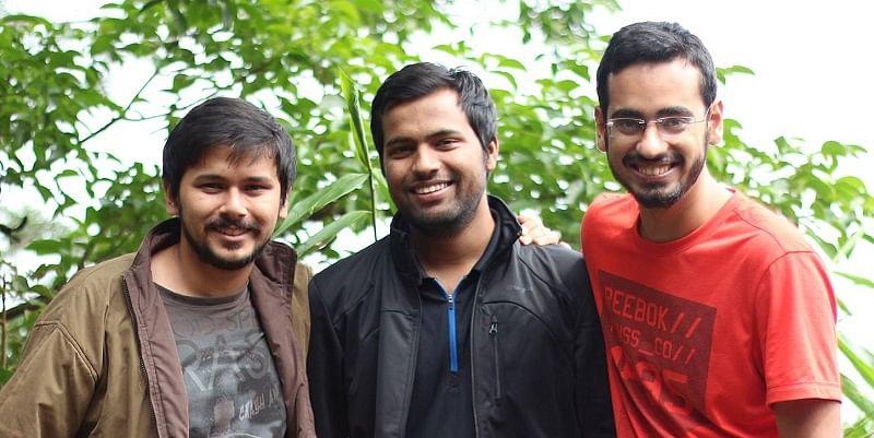 ShareChat Founders (L to R): Farid Ahsan, Bhanu Singh and Ankush Sachdeva