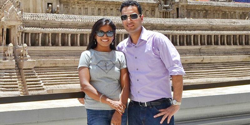 Gunjan and Pranjali