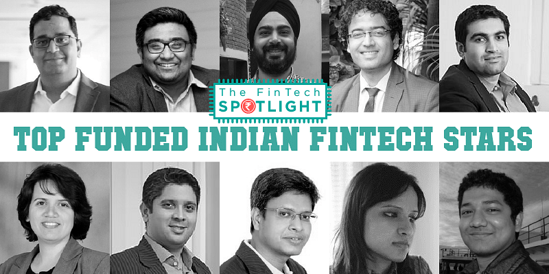 The 13 biggest funded fintech stars of India