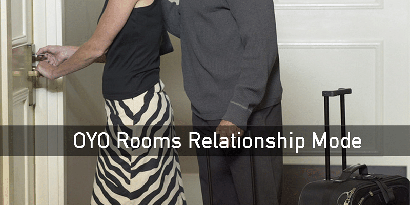 Oyo Rooms' Relationship Mode shows hotels that welcome