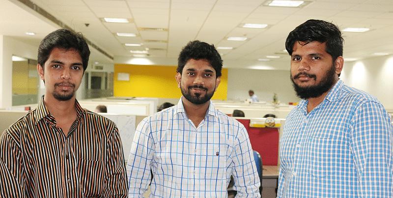 Sunami founders: Prakhar Dighe, Prabhu SNM and Sudeep Sesha