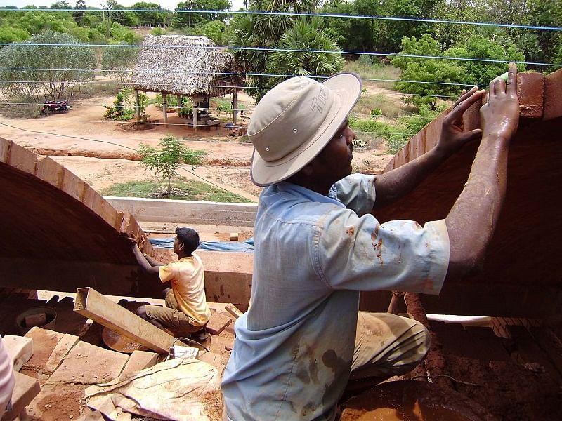 Craftsmen at work