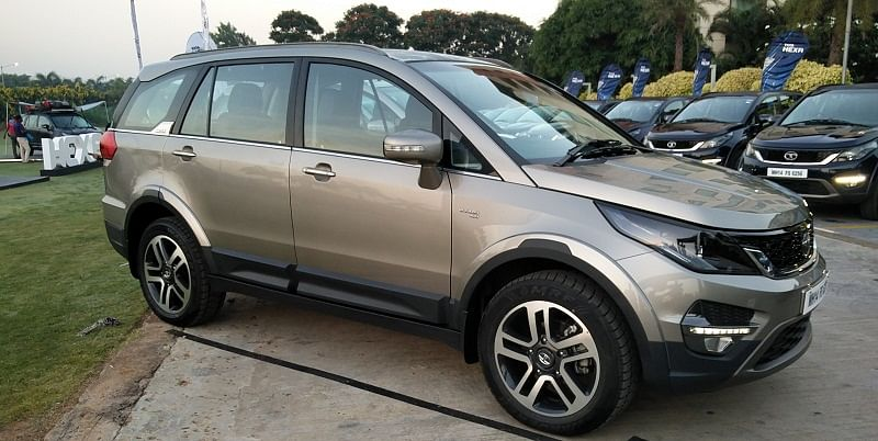 The new Hexa, which will be launched by Tata Motors next year