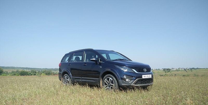 The new Hexa by Tata Motors