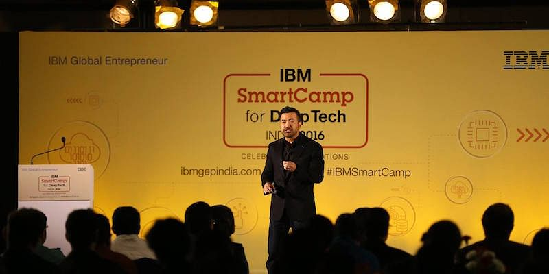 Willie Tejada, IBM Chief Developer Advocate, IBM Digital Business Group; speaks at the event