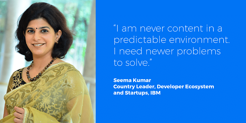 IBM's Seema Kumar on how the right opportunities and the right