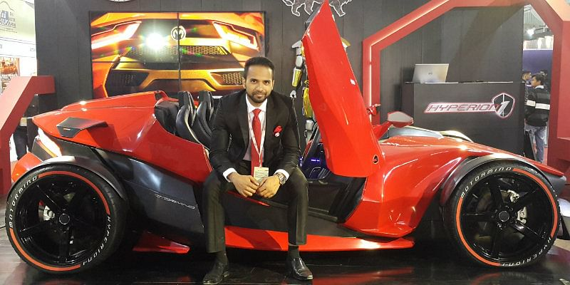 Meet Bengaluru S Shahid Haq Who Aims To Give Ferrari A Run For Its Money