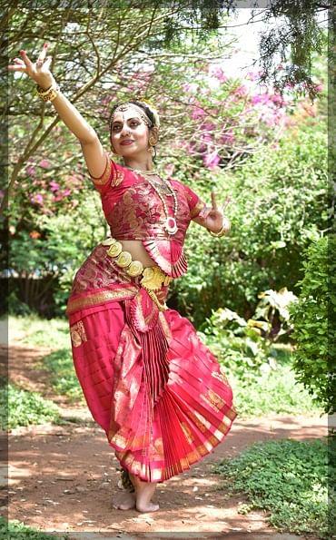 Radhika bharatnatyam