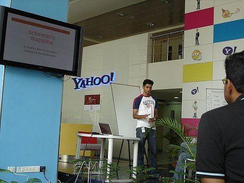 Arun at Yahoo