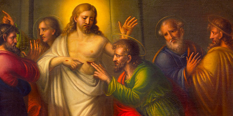 Image result for image of doubting thomas