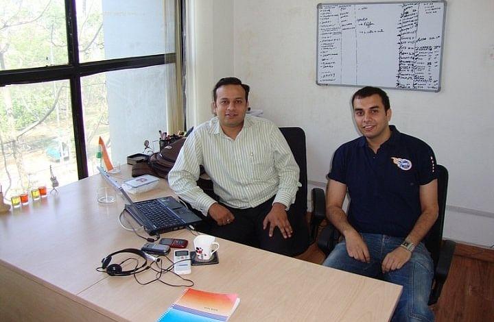 Ashish in his office
