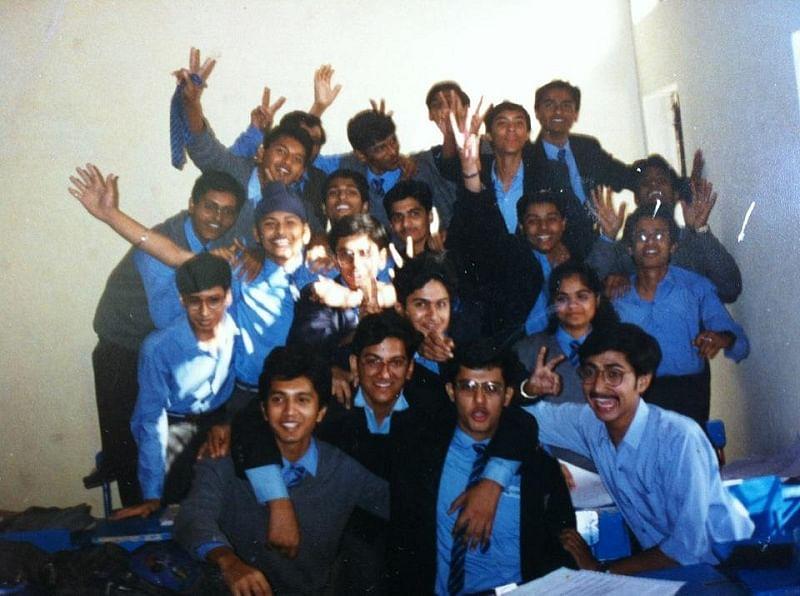 Ashish in school days