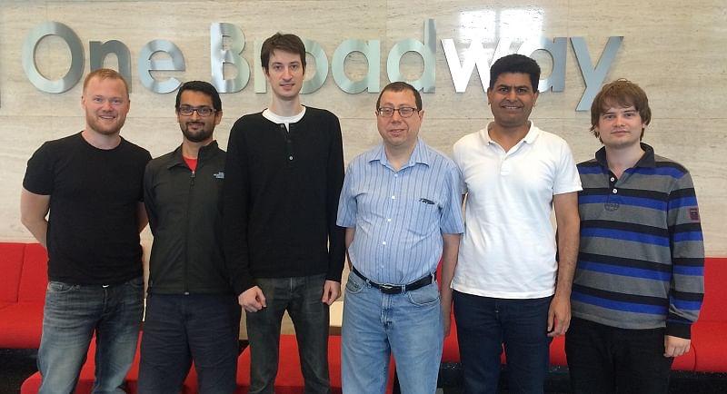 Julia Computing - 4 co-founders + Deepak + Keno