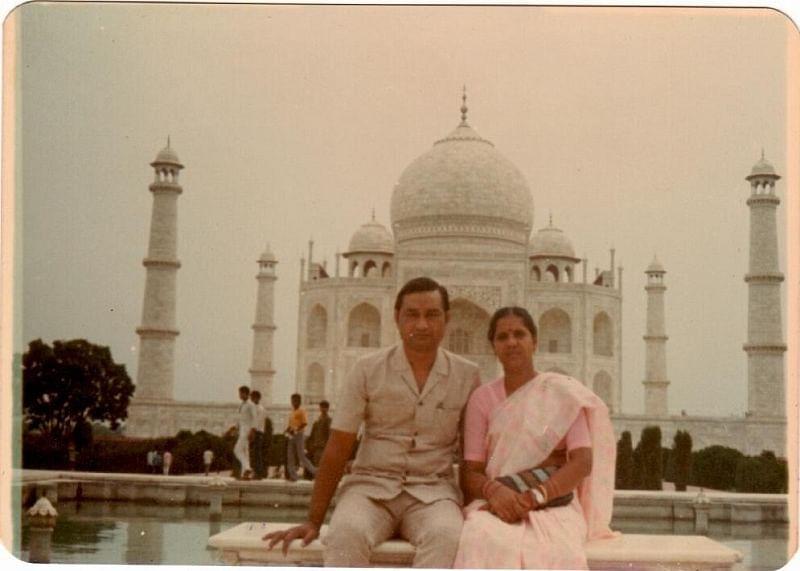 Mitesh's parents