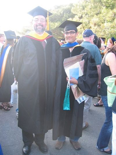 Viral and PhD advisor John Gilbert