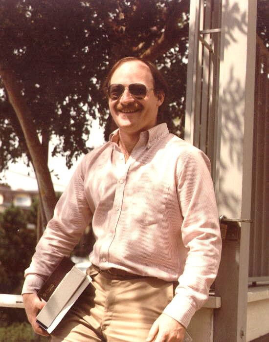 Alan during his brief time at Digital Research in Monterey CA, circa 1982