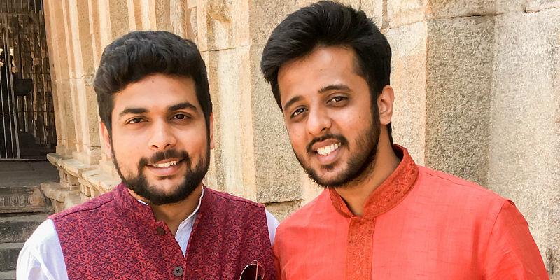 Darshan Desai and Bharath Hegde (Co-founders of InertiaCart)