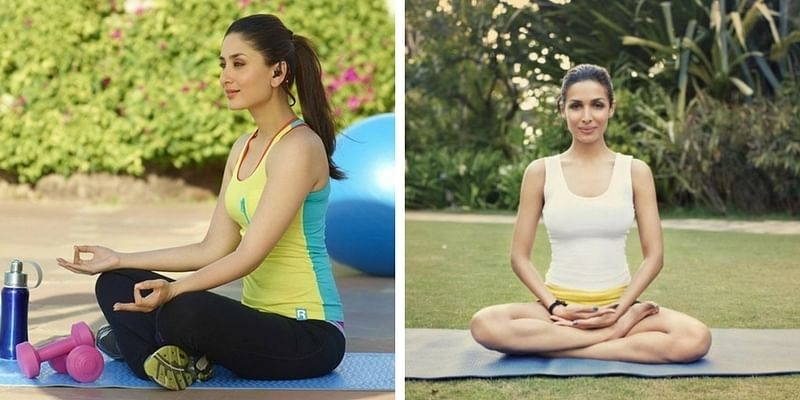 International Day of Yoga  MALAIKA ARORA PHOTO GALLERY   : IMAGES, GIF, ANIMATED GIF, WALLPAPER, STICKER FOR WHATSAPP & FACEBOOK #EDUCRATSWEB