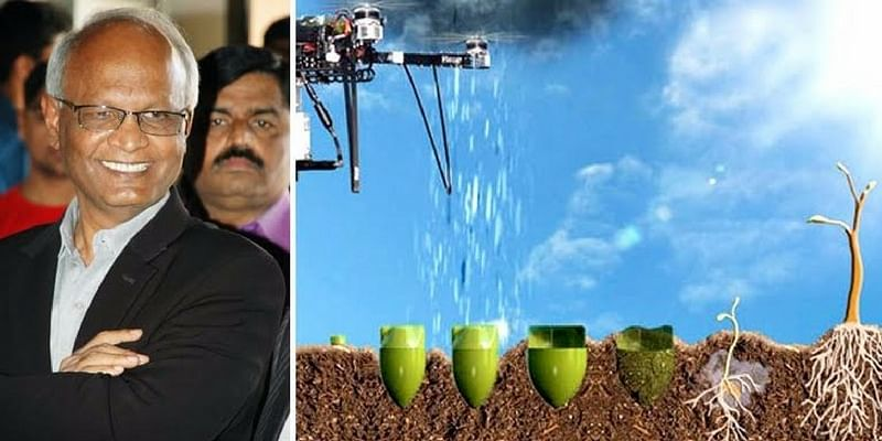 Scientists from Bengaluru will grow forests using drones