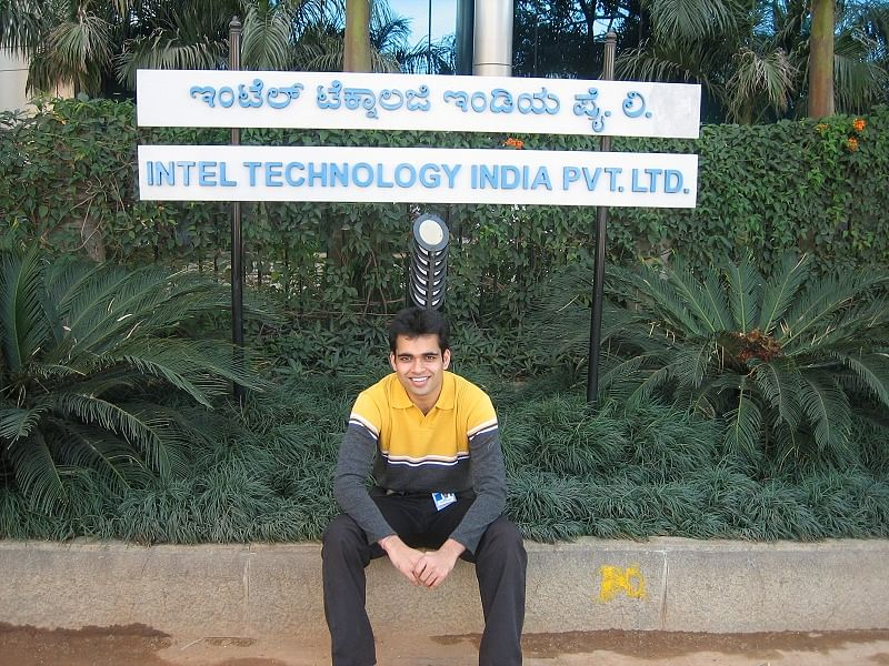 Ajay at Intel Office