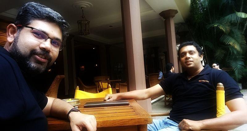 App Achhi cofounders - Pradeep Soundararajan and Avinash Nishant