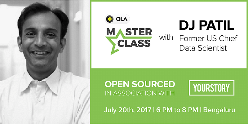 OLA Master Class with DJ Patil, Former Chief Data Scientist of the USA