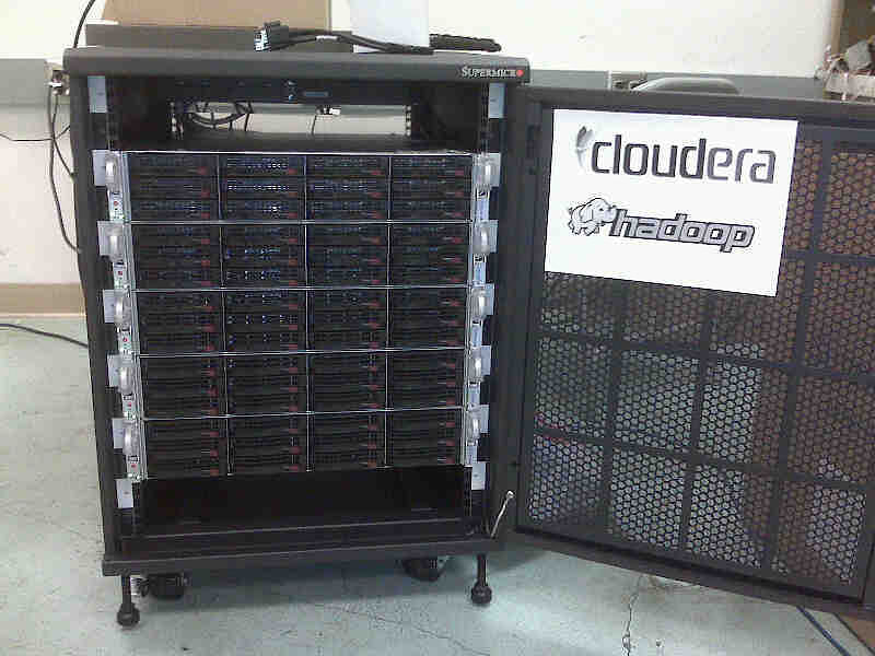 First cluster of CLoudera