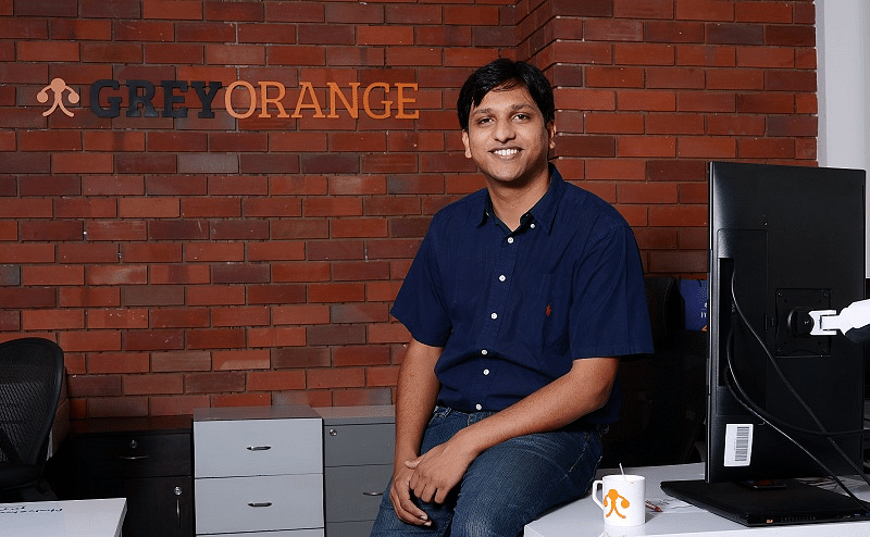 Akash Gupta Grey Orange