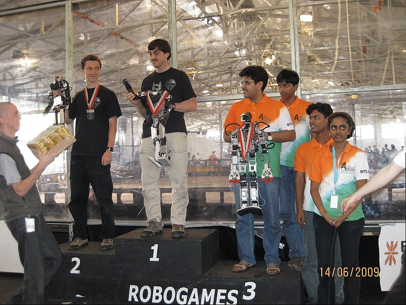 Team AcYut at Robogames 2009, San Fransisco