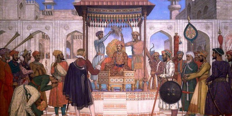 The ruins of the Mughal rule